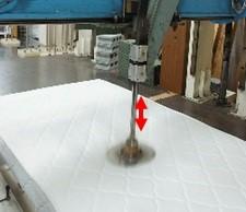 スプリングマットレス 耐久試験 ヘタリを測定 バネの折れがない