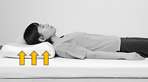 モットン枕 反発力 首筋のすき間を埋める 頚椎を支える設計