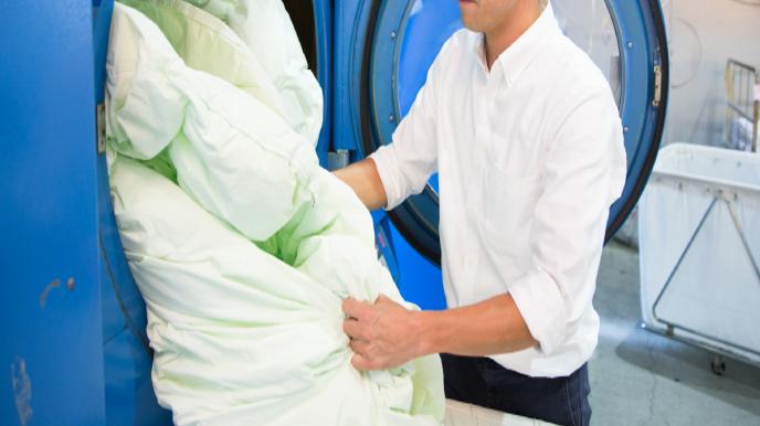 復元乾燥仕上げ 弾力性を回復 保温力を回復 綿ゴミを除去