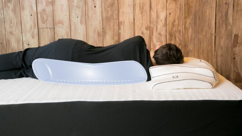 YOKONE3 横向き寝専用 枕 抱き枕を背中におく 横向き寝を保持